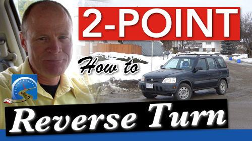 Learning to do a 2-point reverse turn will both help you to pass a driver's test in the state of Maryland and be a safer, smarter driver overall.